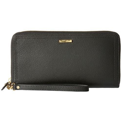 Lodis Accessories Stephanie Under Lock & Key Vera Wristlet Wallet Black