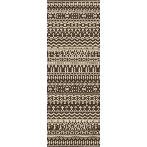 Ruggable Washable Cadiz Espresso 2 ft. 6 in. x 7 ft. Stain Resistant Runner
