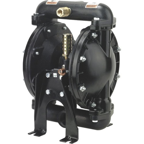 ARO Air-Operated Double Diaphragm Fuel Transfer Pump  1in. Ports, 29 GPM, Aluminum/Acetal/Viton,