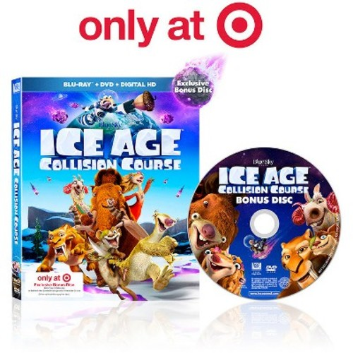 Ice Age 5 - Collision Course (Target Exclusive, Blu-ray/DVD + Digital HD)