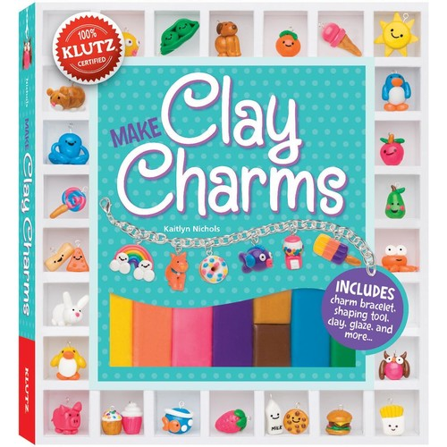 Clay Charms Book Kit -