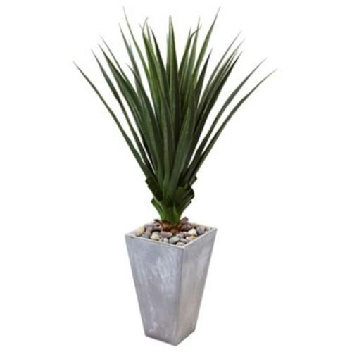 Orren Ellis Artificial Spiked Floor Agave Plant in Planter