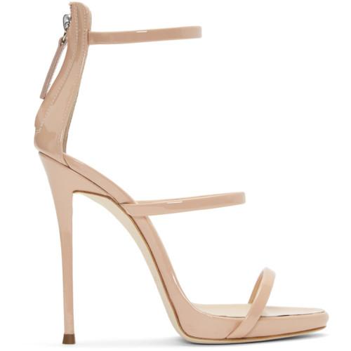 Pink Patent Coline Sandals