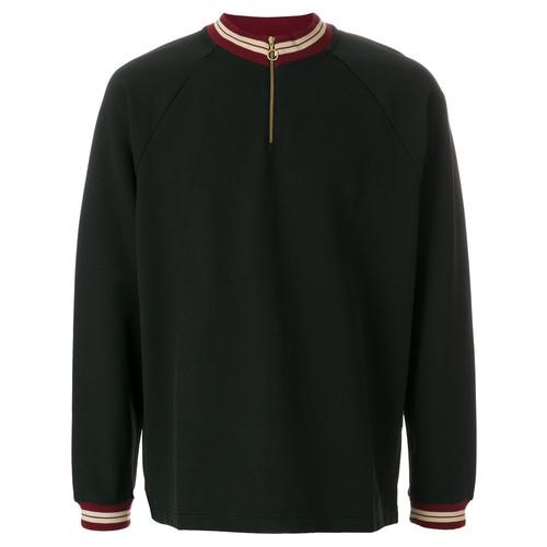 ring zip sweatshirt
