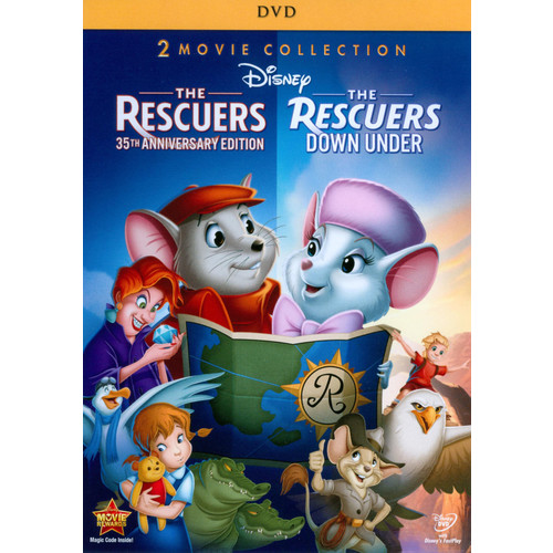 The Rescuers: 35th Anniversary Edition/The Rescuers Down Under [2 Discs] [DVD]