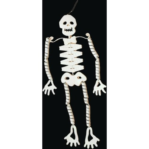 Metal Hanging Skeleton Figurine