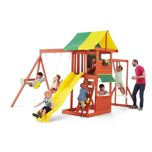 Big Backyard Hazelwood Swing Set
