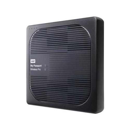 WD 2TB My Passport Wireless Pro Portable External Hard Drive - WiFi AC, SD, USB 3.0 - WDBP2P0020BBK-NESN