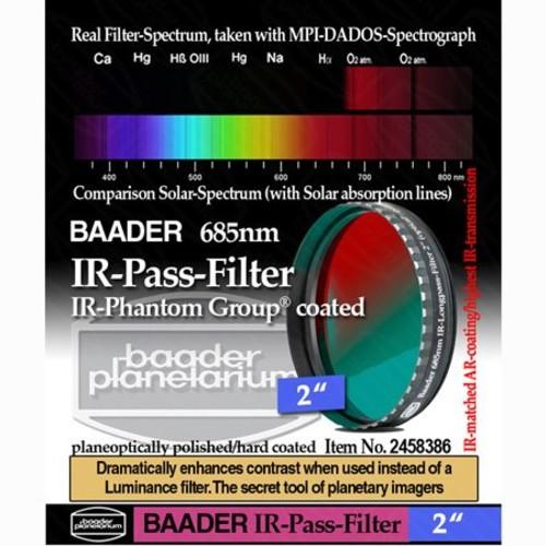 Baader Planetarium 2458386 2-inch IR-Pass Telescope Filter