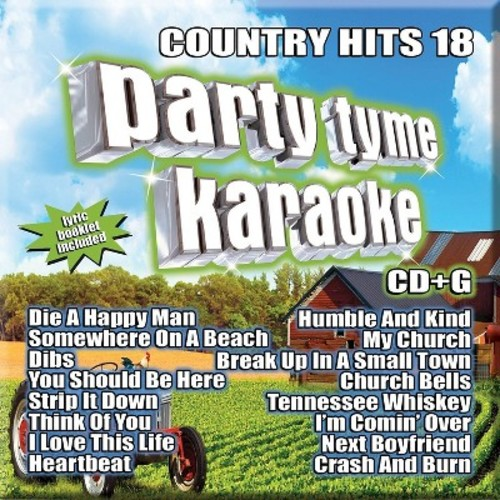 Party Tyme Karaoke: Country Hits, Vol. 18 [CD]