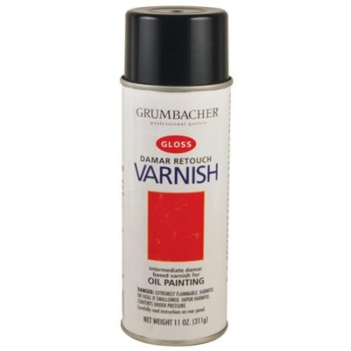 Grumbacher Retouch Varnish Spray