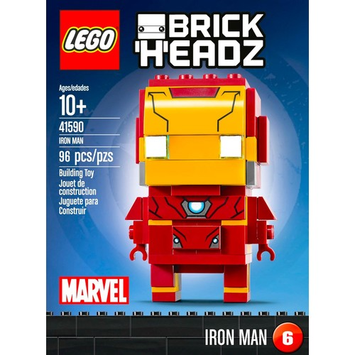 LEGO - BrickHeadz Marvel Super Heroes: Iron Man