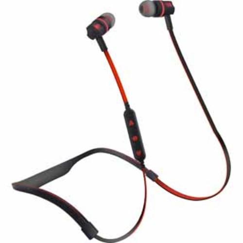 HyperGear Flex 2 Sport Wireless Earphones - Black / Red