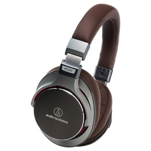 Audio Technica SonicPro Over-the-Ear High-Resolution Audio Headphones - Gun Metal Gray (ATH-MSR7GM)