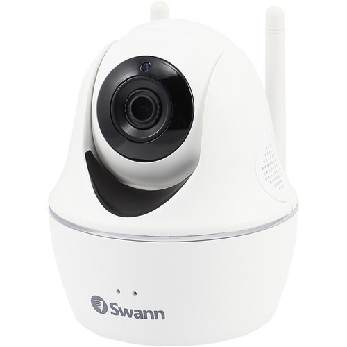 Swann - Pan and Tilt Indoor Wi-Fi Network Surveillance Camera - White