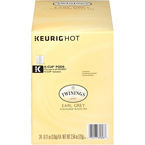 Twinings Earl Grey K-cups, 24 Count [Earl Grey]