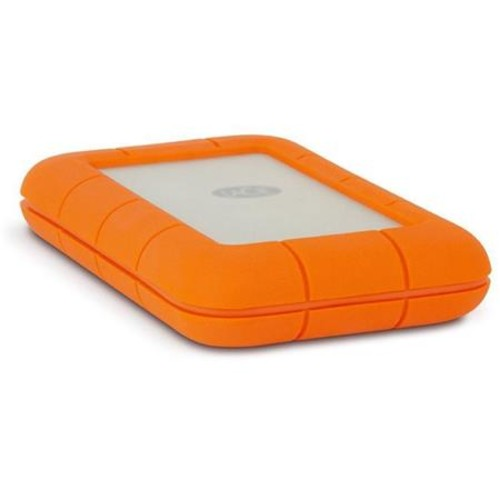 LaCie 2TB Rugged Thunderbolt USB 3.0 Portable Hard Drive, 5400 RPM With Case
