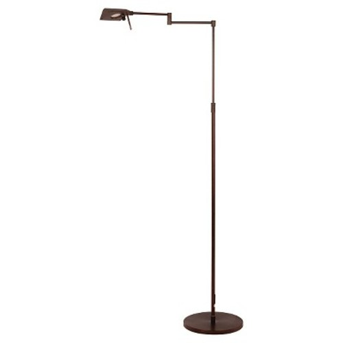 Adjustable Metal Floor Lamp - Oil Rubbed Bronze (53.75