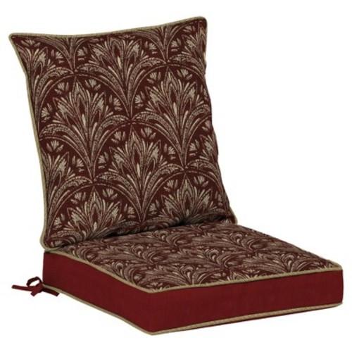 Bombay Outdoors Royal Zanzibar Medallion Reversible Dining Chair Cushion Set