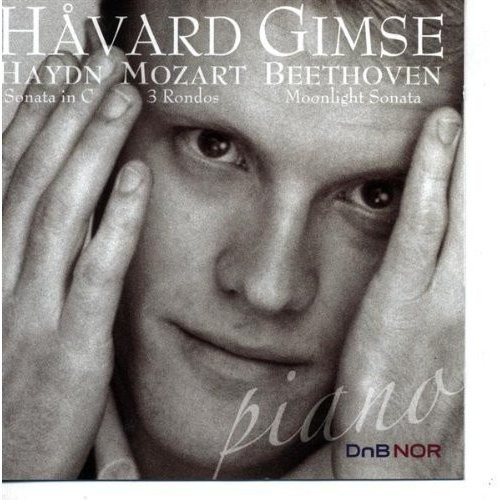 Haydn: Sonata in C; Mozart: 3 Rondos; Beethoven: Moonlight Sonata [CD]