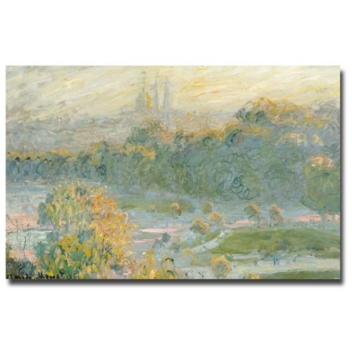 Claude Monet 'The Tuileries' Canvas Art