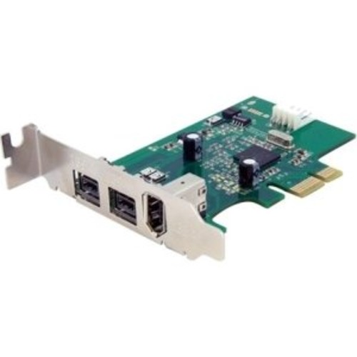 StarTech.com 3 Port 2b 1a Low Profile 1394 PCI Express FireWire Card Adapter PEX1394B3LP