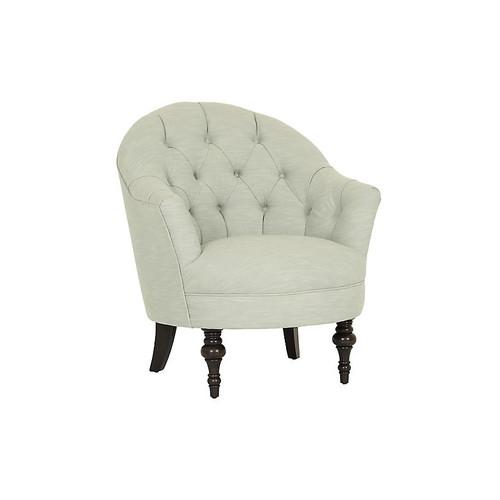 Elizabeth Accent Chair, Mist Crypton