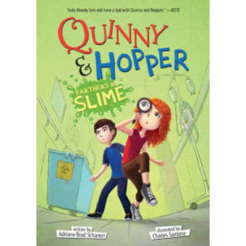Partners in Slime (Quinny & Hopper Series #2)