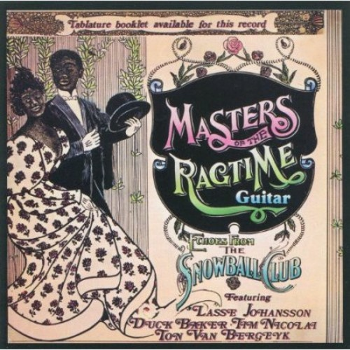 Masters of the Ragtime Guitar [CD]