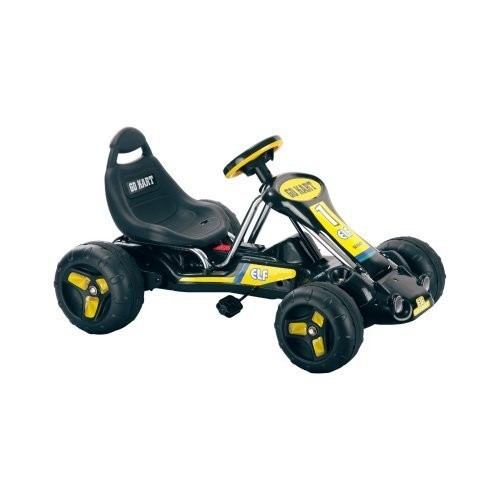 Ride On Toy Go Kart, Pedal Powered Ride On Toy by Lil' Rider  Ride On Toys for Boys and Girls, For 3  7 Year Olds (Black)