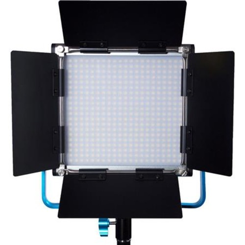 Dracast Silver LED500 Daylight LED Light, V-Mount Battery Plate, 480 5mm LEDs DRSP-500D