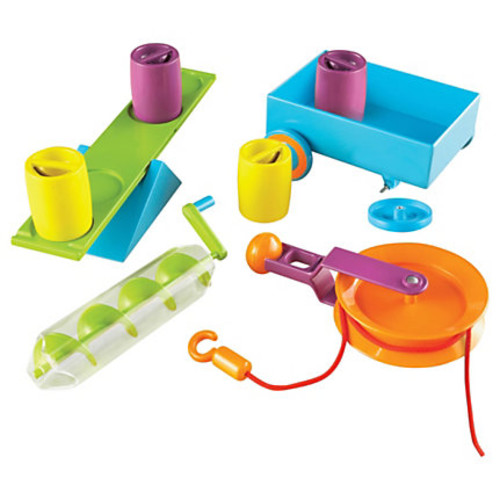 Learning Resources Simple Machines Set - Skill Learning: Mathematics, Science, Physics, Problem Solving