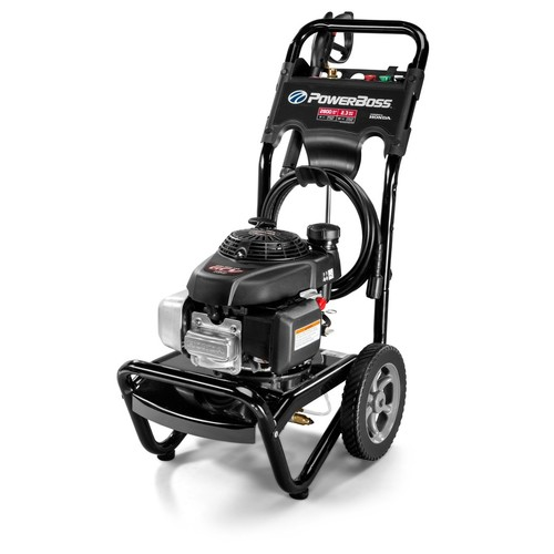PowerBoss 2800-PSI 2.3-GPM Cold Water Gas Pressure Washer CARB Compliant