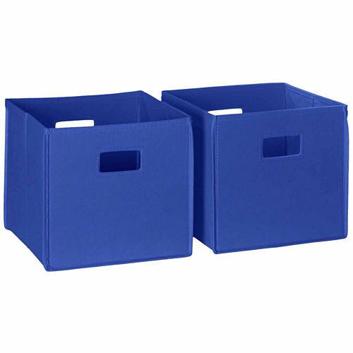 RiverRidge Home 2 pc Folding Storage Bin Set JCPenney