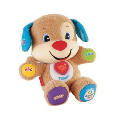 Fisher-Price Laugh & Learn Smart Stages Puppy Toy with Bonus DVD (CMV92)