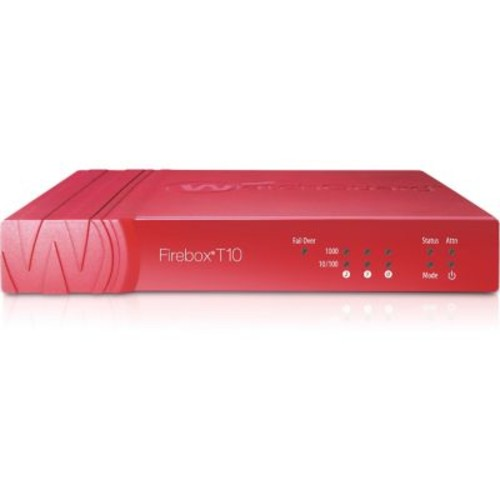 WatchGuard Firebox T10 Network Security/Firewall Appliance With 1 Year Live Security