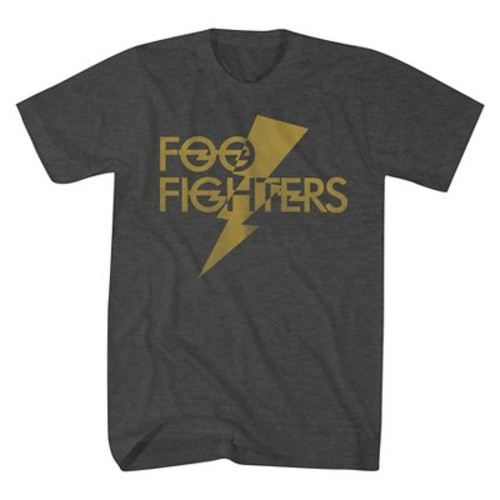 Foo Fighters Men's T-Shirts Charcoal