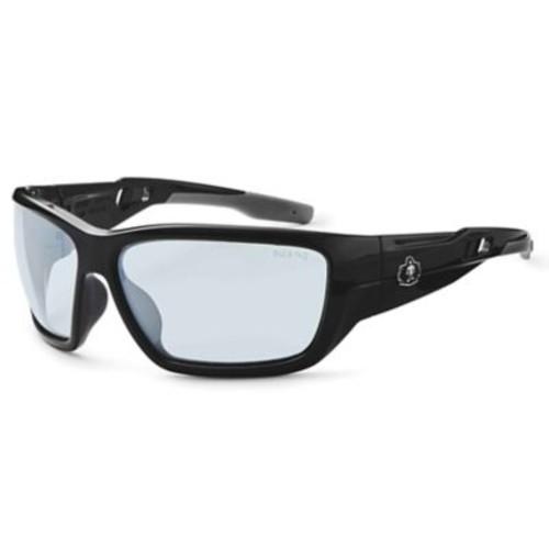 Skullerz BALDR Safety Glasses, In/Outdoor Lens, Black (57080)