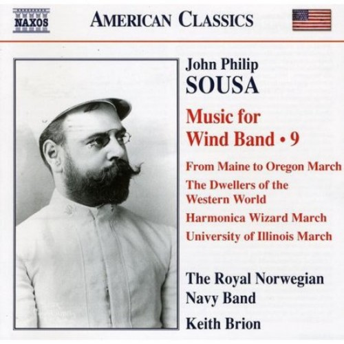 Sousa: Music for Wind Band, Vol. 9 [CD]
