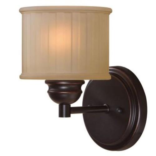 Kenroy Home Barney 1-Light Bronze Sconce
