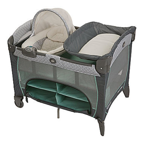 Graco Pack 'n Play Playard with Newborn Napper Station DLX and Changing Table - Manor