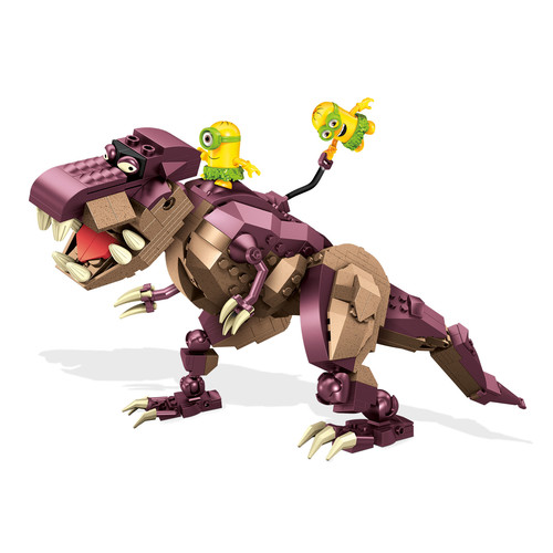 Mega Bloks Minions Dino Ride Building Set