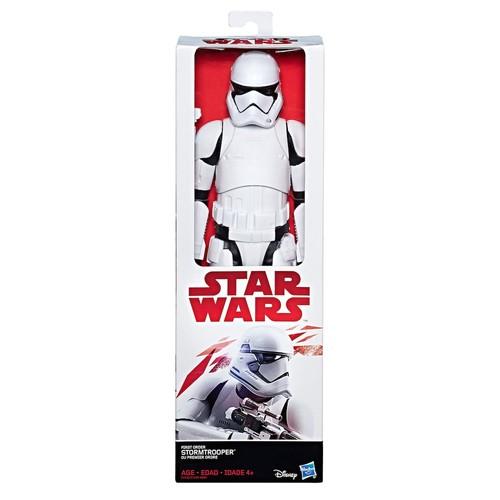 Star Wars: Episode VIII The Last Jedi First Order Stormtrooper 12-in. Figure by Hasbro