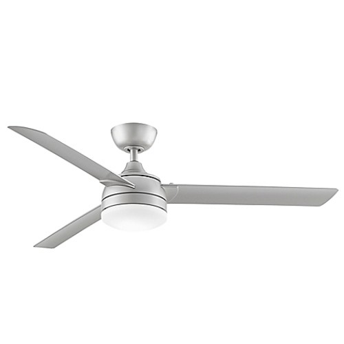Fanimation Xeno Wet 56-Inch Single-Light Indoor/Outdoor Ceiling Fan in Brushed Nickel