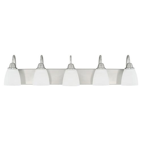 Capital Lighting Trenton Collection 5-light Brushed Nickel Bath/Vanity Light
