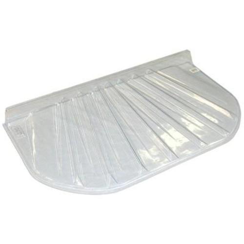 MacCourt 48 in. x 4 in. Polyethylene Elongated Low Profile Window Well Cover