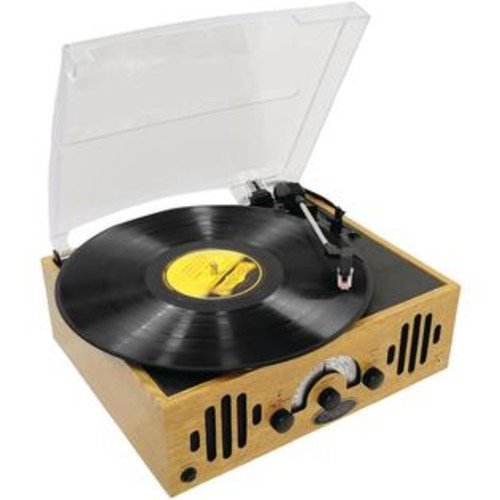 Pyle Home Pvnttr22 Retro Belt-driven 3-speed Turntable