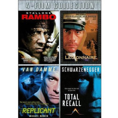 Four-Film Collection: (Rambo / Legionnaire / Replicant / Total Recall)