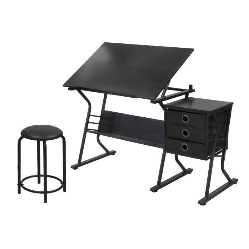 STUDIO DESIGNS Eclipse Craft Center in Black / Black 13365 [Black/Black]