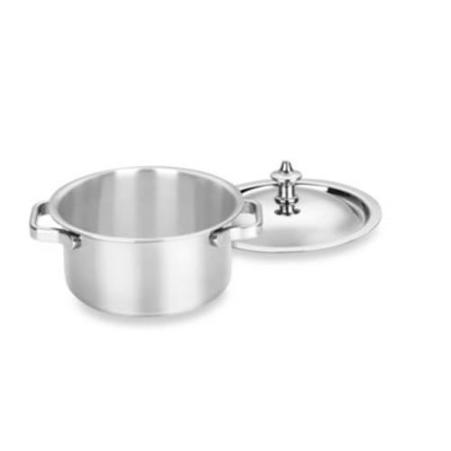 Cuisinart Stainless Steel Mini 0.32-Quart Dutch Oven Servers (Set of